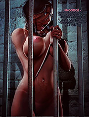 Caged by Benedikt | Business Debt | art, bdsm, comic, submission