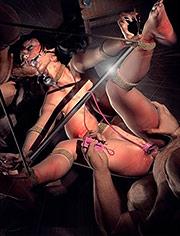 Miss bondage by Benedikt | Business Debt | art, bdsm, comic, submission