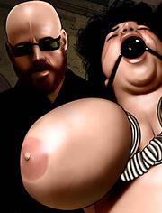 The Brazilian by De Haro | The preacher | art, bdsm, comic, sadism