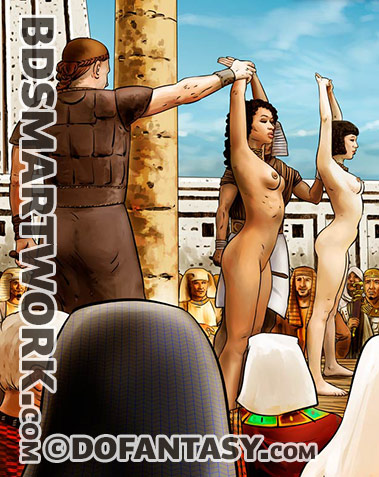The Long Journey by Mr.Kane | Goddesses, Queens and slaves