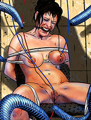 The Pain Chair by Mr.Kane | Black star revolution | art, bdsm, comic, submission