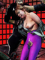 The Chair by Mr.Kane | Black star apocalypse | art, bdsm, comic, humiliation