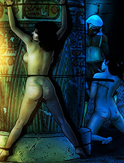 The Women's Prison by Mr.Kane | Goddesses, Queens and slaves | art, bdsm, comic, slave