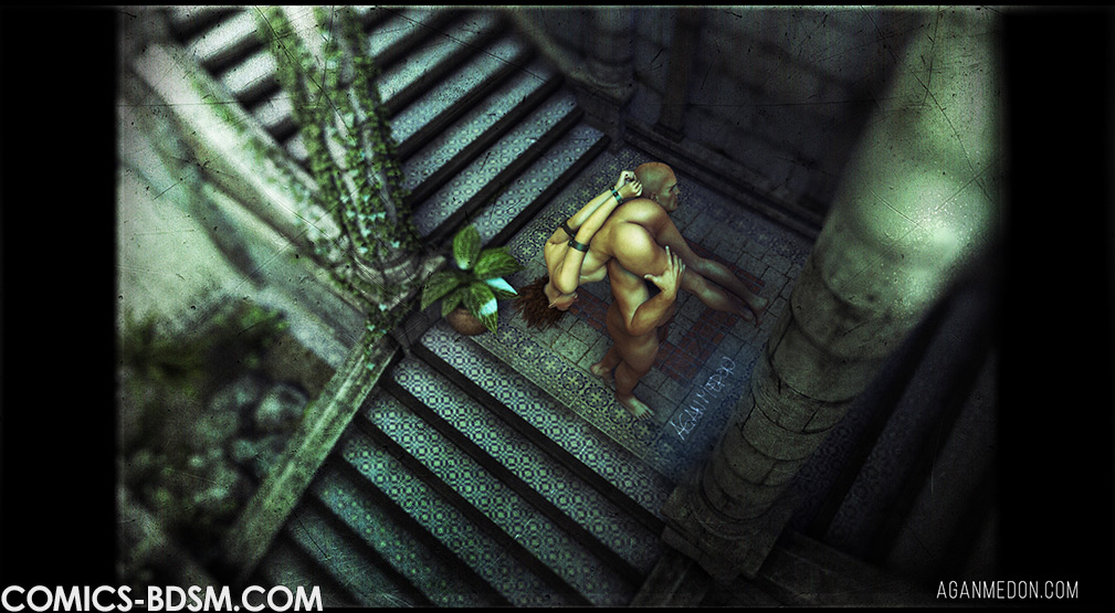 The dungeon 3 - Then she should be flogged and fucked by Agan Medon