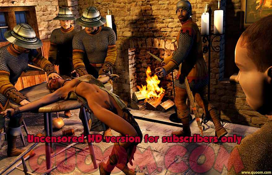 Who was kind enough to remove your gag to let us hear you scream - Chinese torture chamber by Quoom