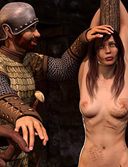 Saveda stomach muscles twitched uncontrollably in fear | Safe passage | Quoom | 3D BDSM