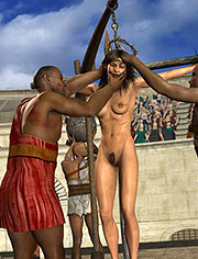 Cruel humiliation | Queen Zenobia | The execution | Quoom | 3D BDSM