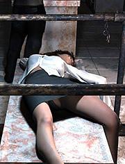 Reliable fixation before humiliation | Revenge of the mafia | Quoom | 3D BDSM