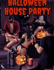 Halloween house party | Hawke | fansadox collection 552